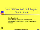 International and multilingual Drupal sites