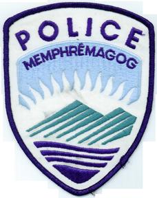 Mémphramagog Police shoulder flash