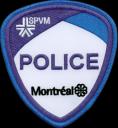 Montréal Police shoulder flash
