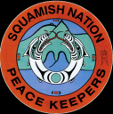 Squamish Nation Peace Keepers sticker
