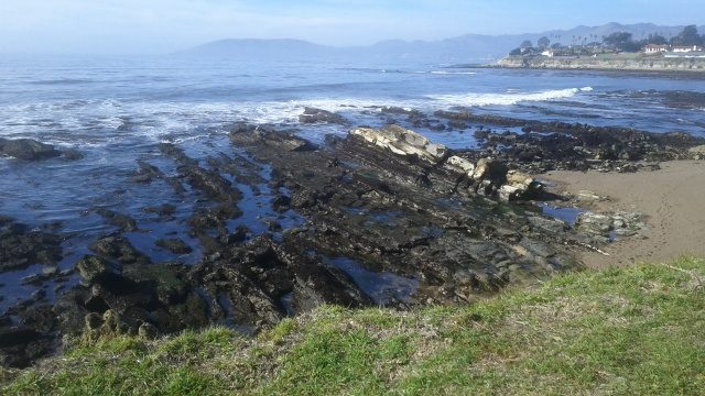 View of Pismo Beach (California) coastline