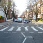 Picture of Abbey Road zebra crossing